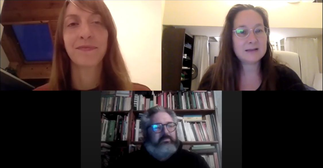 MURMURATION 1: Anne Murray meets with Jatun Risba and Tiziano Fratus